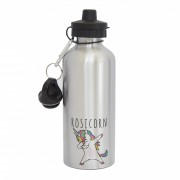 Malcolm & Gerald Personalised Unicorn Water Bottle