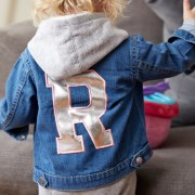 Malcolm & Gerald Personalised Initial Denim Jacket