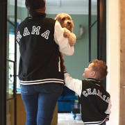 Malcolm & Gerald Mama and Child Varsity Jacket Set