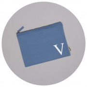 Malcolm & Gerald Personalised Initial Make-up Bag