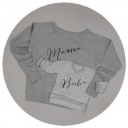 Malcolm & Gerald Mama Slouch Jumper and Buba Sweatshirt Set