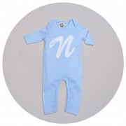 Malcolm & Gerald Initial Babygrow