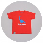 Malcolm & Gerald Red Dinosaur T-Shirt