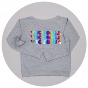 Malcolm & Gerald Rainbow Slouch Jumper